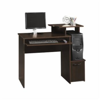 Sauder Beginnings Computer Desk - Cinnamon Cherry