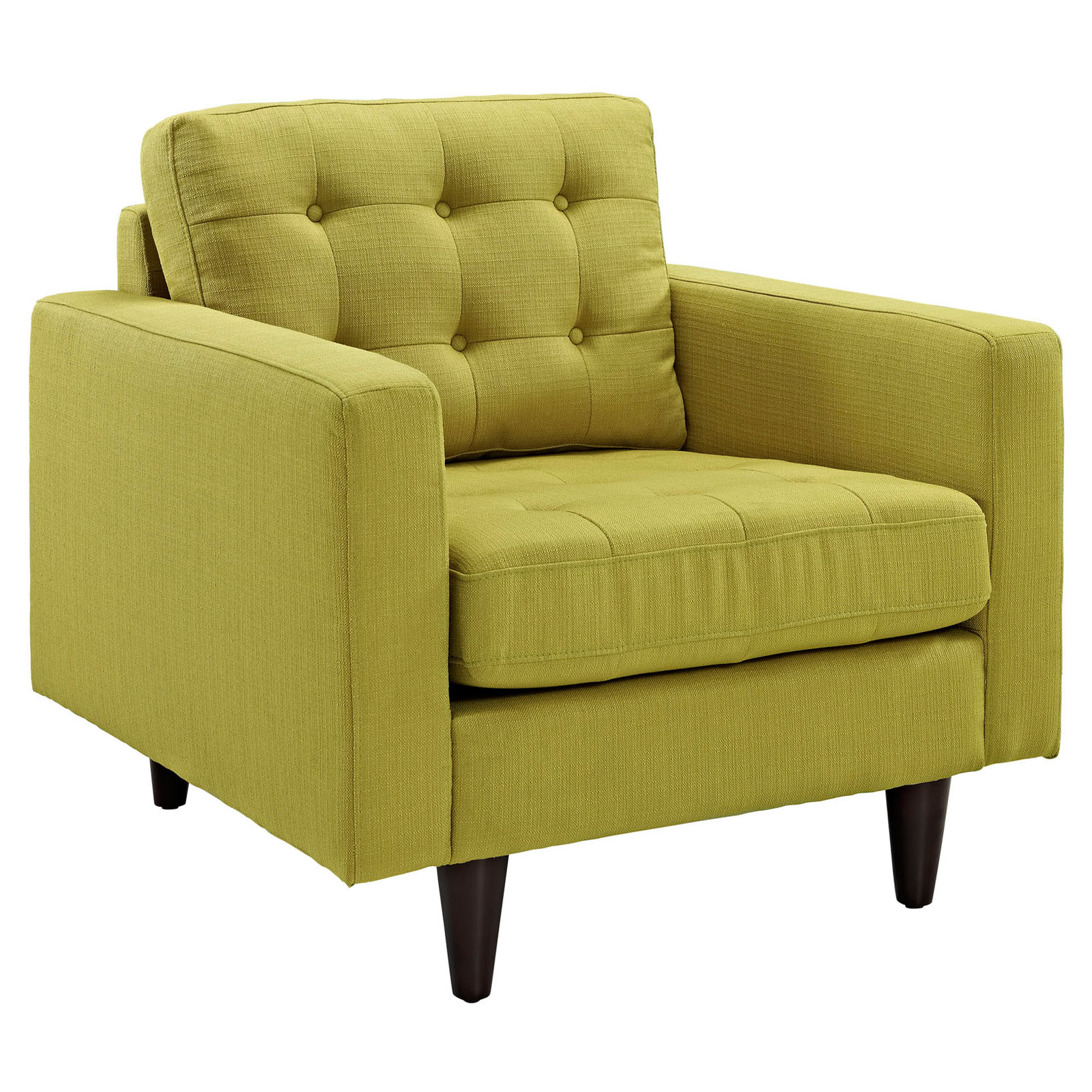 modway empress upholstered armchair hayneedle