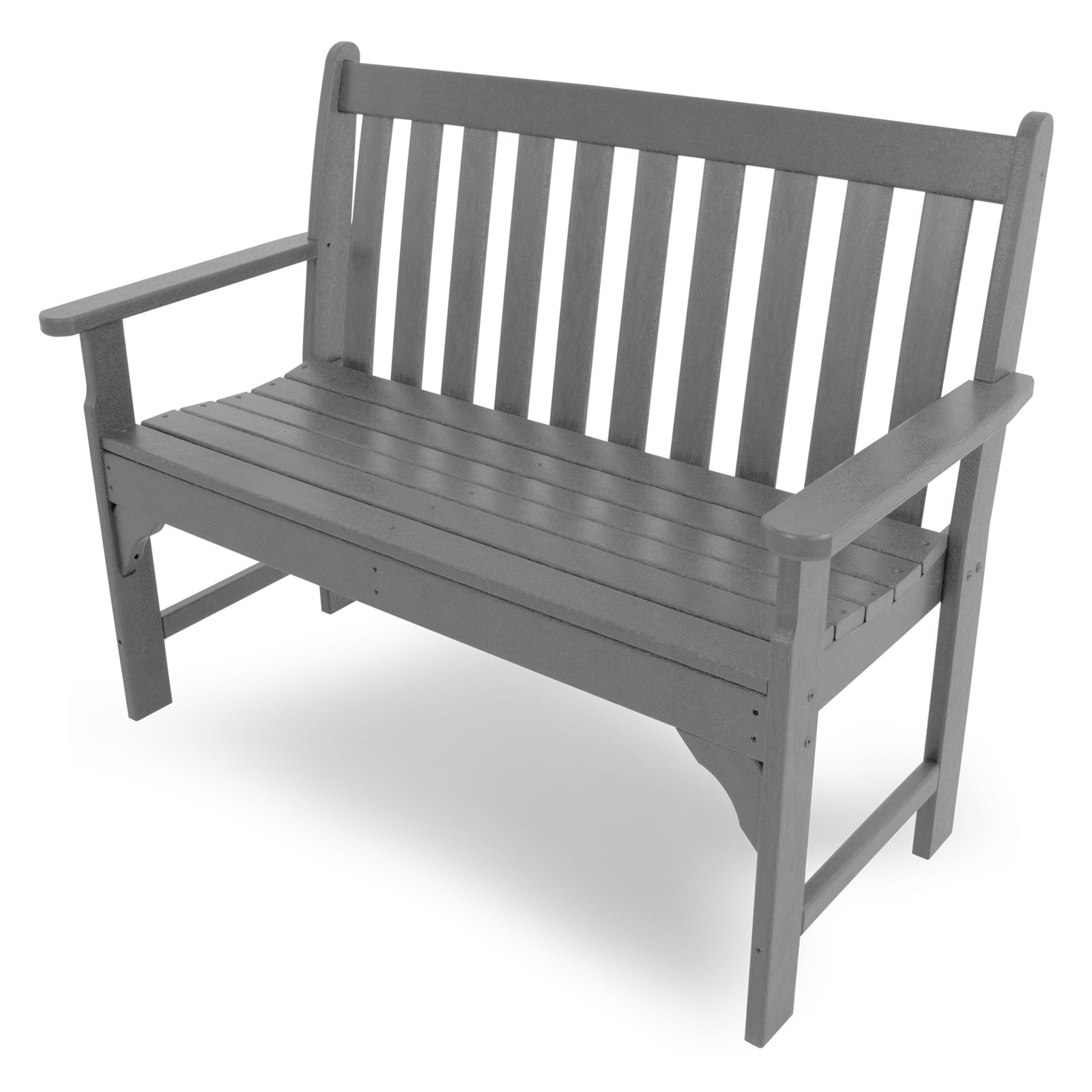 dale garden outdoor dalebench plastic s product hires front in furniture bench tdp recycled black