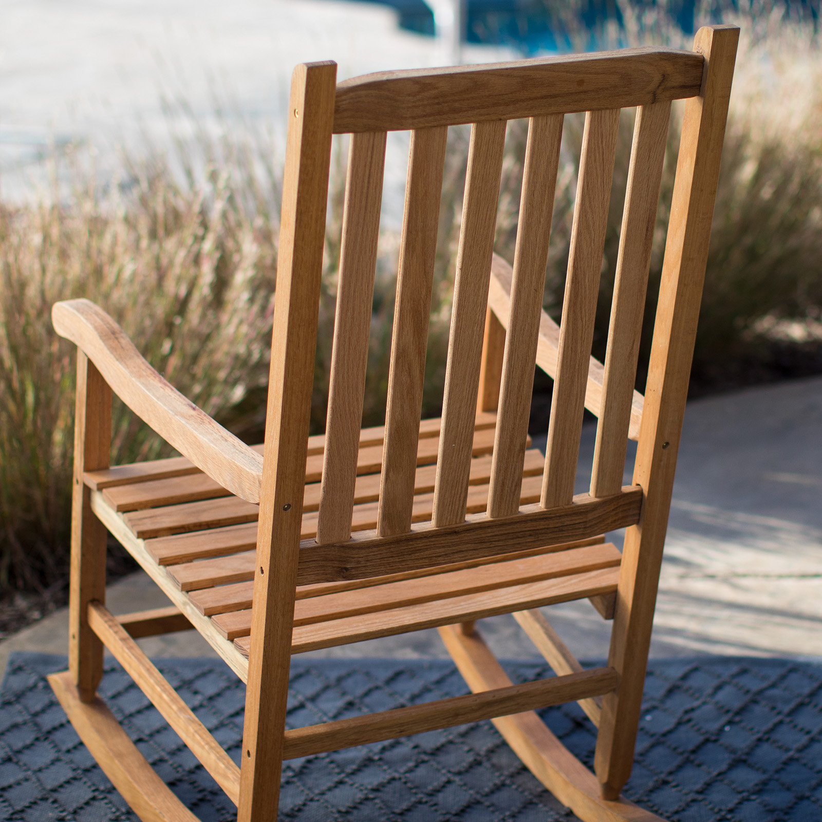 Belham Living Irwin Oak Rocking Chair. QUICK VIEW